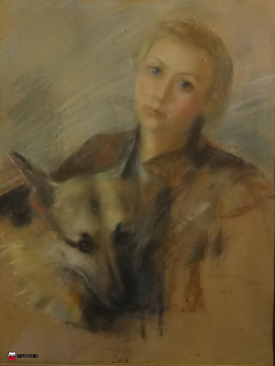 DSC04562 Anna Teresa z Gromem 1954