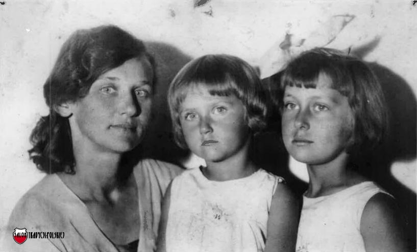 Maria Orlowska-Wedrowska z Krystyna Ewa i Anna Teresa