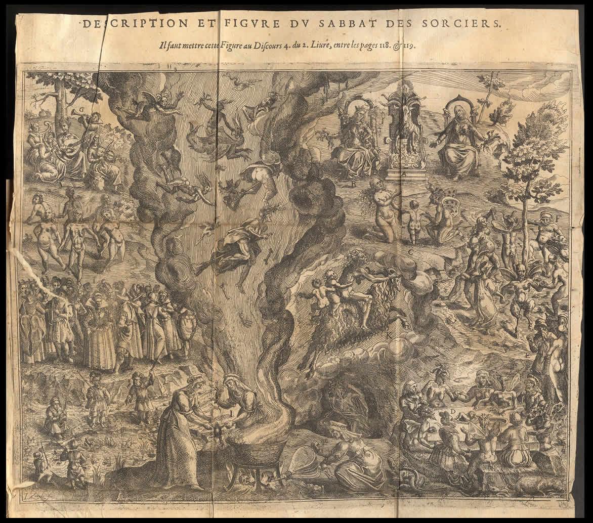 Jan Ziarnko Sabat czarownic 1612