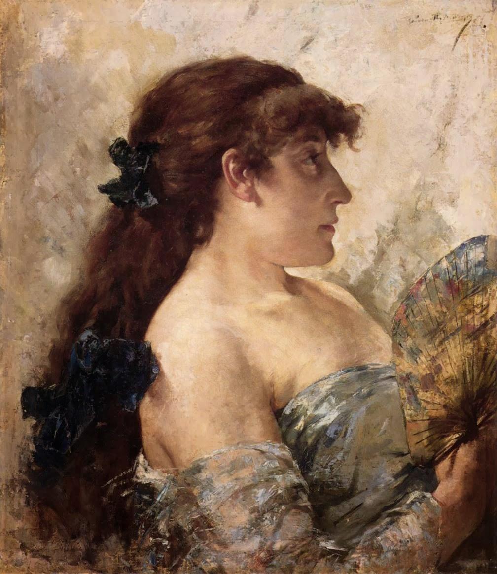 1881- Sarah Bernhardt -Theo van Rysselberghe