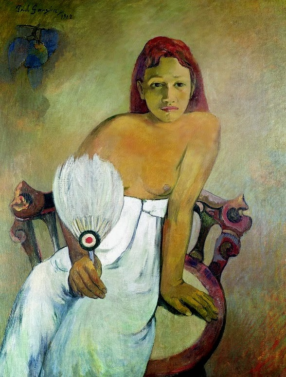 1902-paul-gauguin-tahitian-woman-with-fan