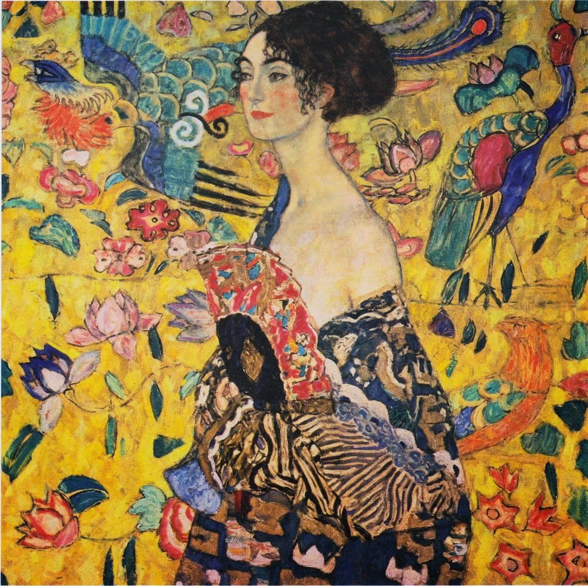 1918-gustav-klimt-lady-with-fan