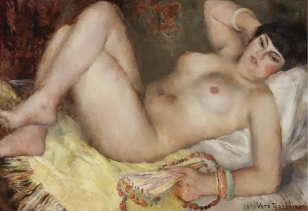 1934-vera-rockline-reclining-nude-young-woman-with-a-fan