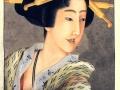 1830un-katushika-hokusai-portrait-of-a-woman-holding-a-fan