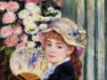 Pierre-Auguste Renoir Girl with fan