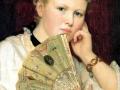 Wladyslaw czachorski-dziewczyna z wachlazrem