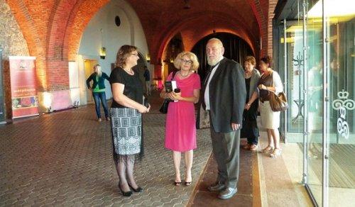 2013.08.30 B.Cywinski zorganizatorkami wieczoru 2013.08.30