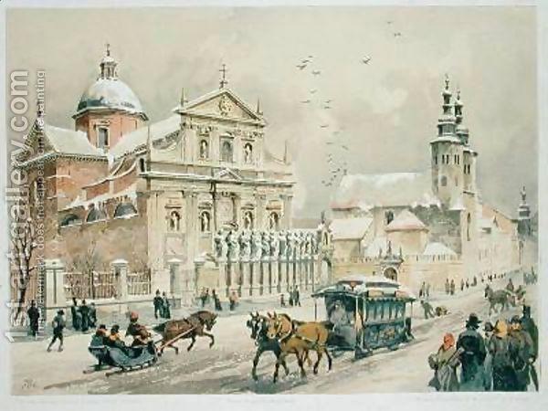 Church-Of-Ss-Peter-And-Paul-Krakow st. Tondos J.Kossak
