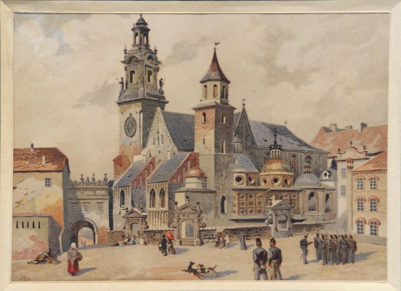 J.Kossak, St.Tondos Wawel