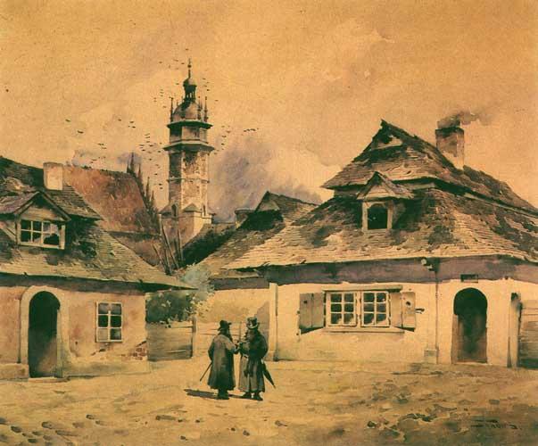 Stanisław_Tondos-Na_Kazimierzu_w_Krakowie