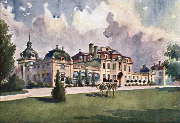 Stanisław_Tondos_-_Pałac_Goetza w Brzesku