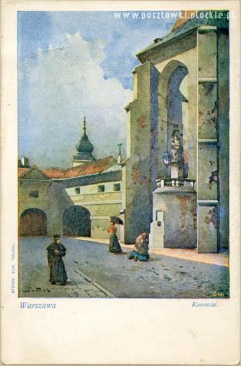 poczt_St.Tondos Warszawa ulica kanonia