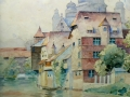 Motyw miejski z kanałem St.Tondos