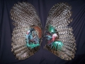 Painted Turkey Wings