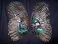 Painted Turkey Wings