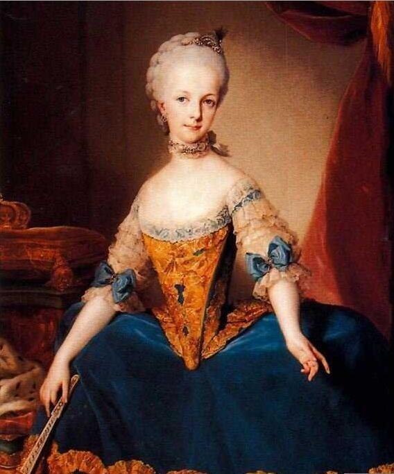Archduchess Maria Josefa of Austria, 1760 1765