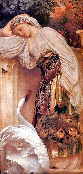 Frederick Leighton Lord Odalisque