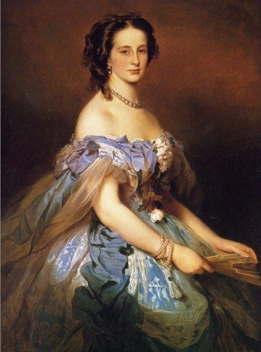 Grand Duchess Alexandra Iosifovna, by Winterhalter 1868