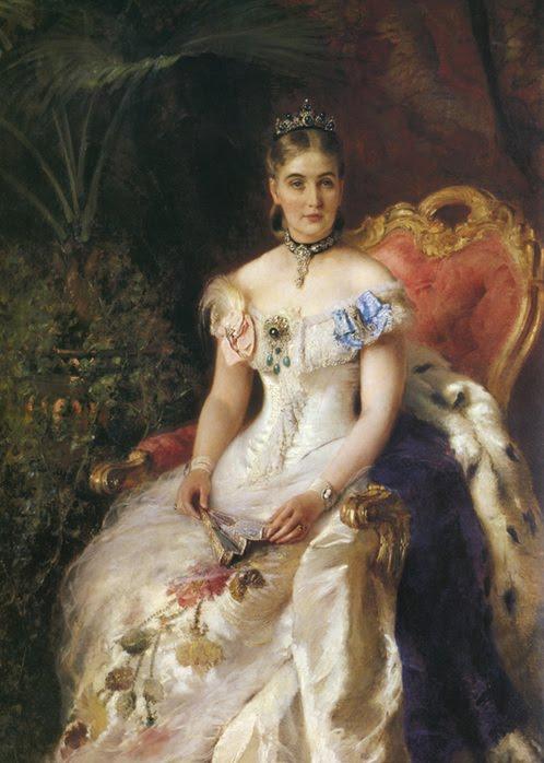 Konstantin Makovsky. Portrait of Maria Volkonskaya