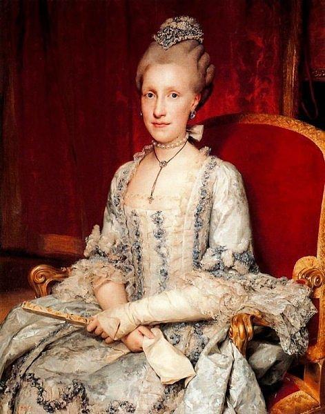 Maria Luisa de Bourbon 1775