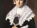 A Woman holding a fan , ca. 1640 byu Frans Halls