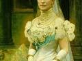Alexandra, Princess of Gals nee Princess of Denmark , ca. 1899, 1900