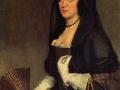 Diego Velázquez Porträt einer Dame mit Fächer, Year 1640-1642