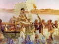 Lawrence Alma-Tadema Sir The finding of Moses