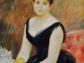 Pierre Auguste Renoir (French painter, 1841-1919) Madame Leon Clapisson Marie Henriette Valentine Billet 1883