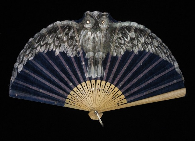 Owl Fan at the Peabody Essex Museum