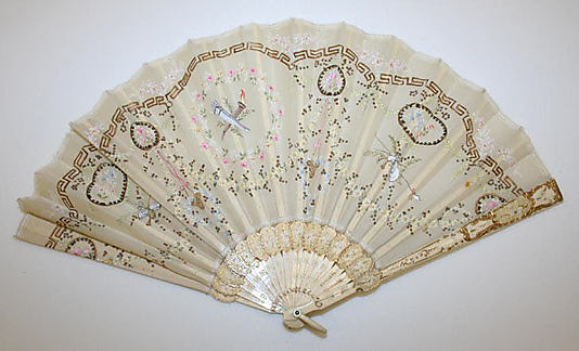Wedding fan, 1916. The Metropolitan Museum of Ar