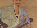 Portrait of the Zen Buddhist monk Wuzhun Shifan, painted in 1238