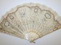 Wedding fan, 1916. The Metropolitan Museum of Ar