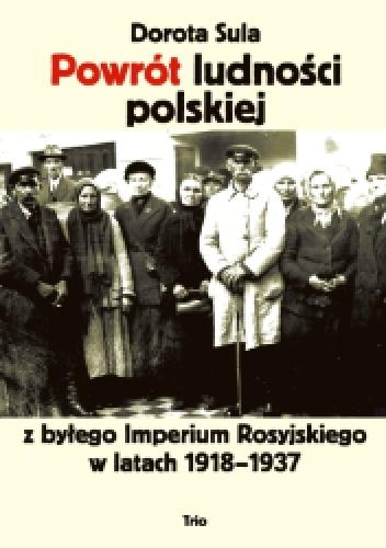 Dorota Sula Powrot ludnosci polskiej