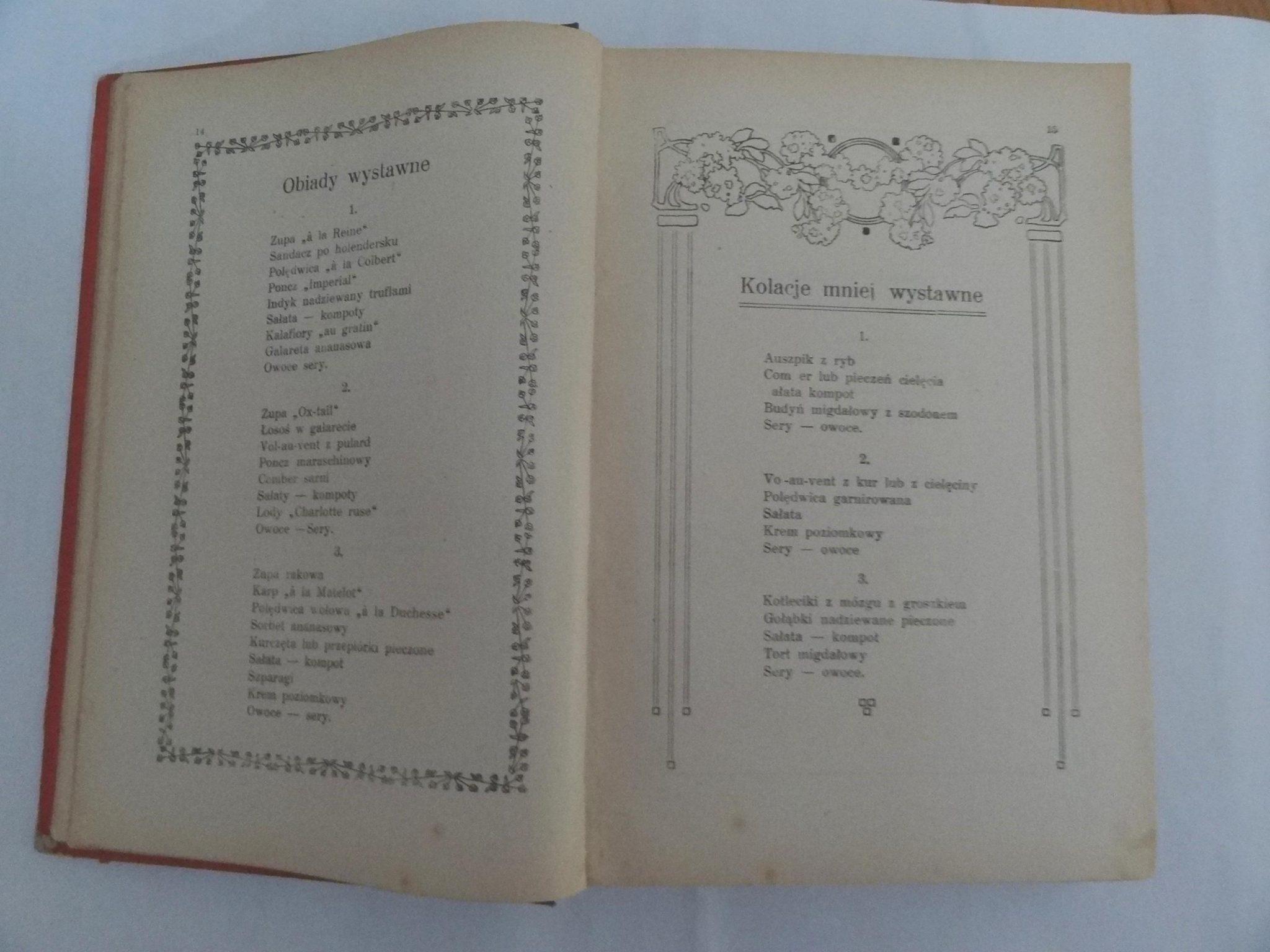 Marya Ochorowicz Monatowa Uniwersalna Książka Kucharska