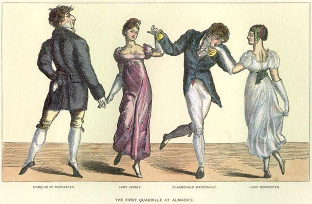 XVIII w.tance francuskie
