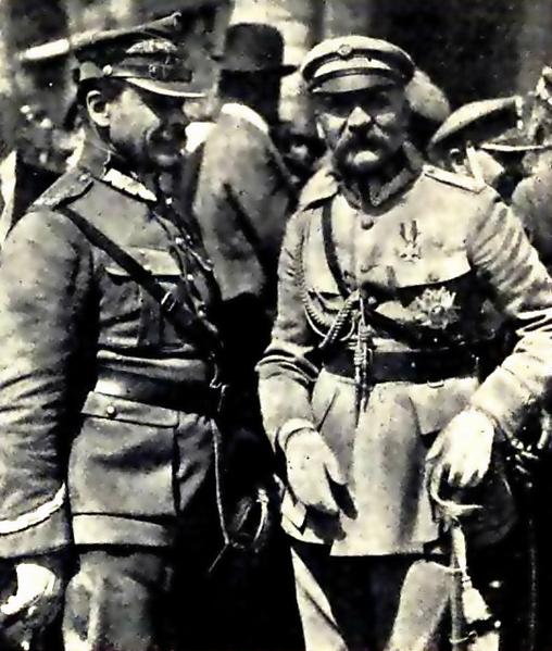 508px-Józef_Piłsudski_and_Józef_Haller_after_victory_in_battle_of_Warsaw_in_1920