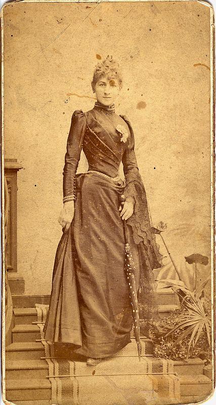 Maria Pomarańska zDoranttów  (1867-1933) - matka braci